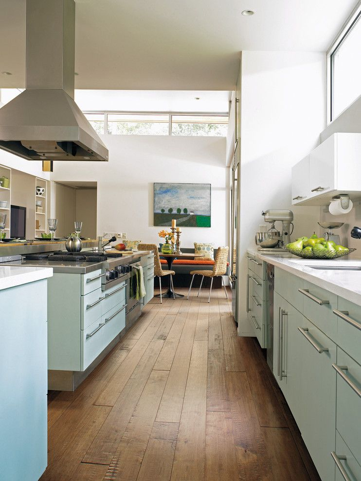 Tractor Pull Games for a Modern Kitchen with a Medium Hardwood Floors and Kitchen by Carpet One Floor & Home