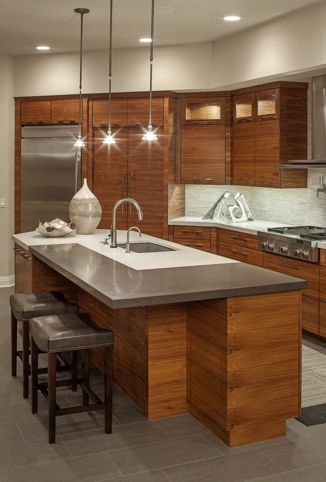 Tri County Plumbing for a  Kitchen with a Lancaster County Nebraska and Client House by Interiors Joan and Associates