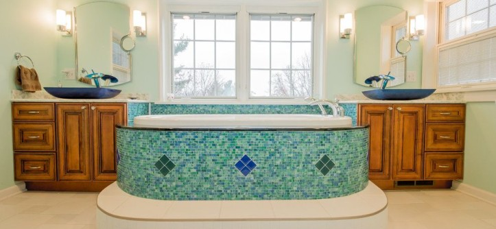 Triska Funeral Home for a  Spaces with a Double Vanity and Troy - Whole House Remodel by Razzano Homes and Remodelers, Inc.