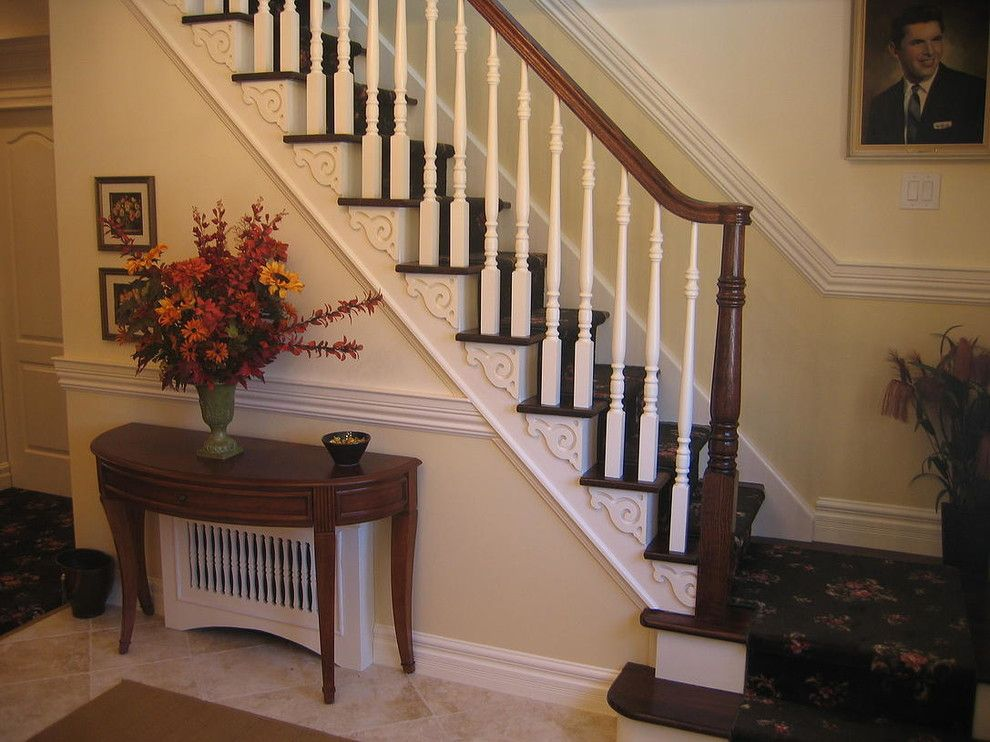 Triska Funeral Home for a Traditional Staircase with a Funeral Home and Funeral Home by the Design Center Llc