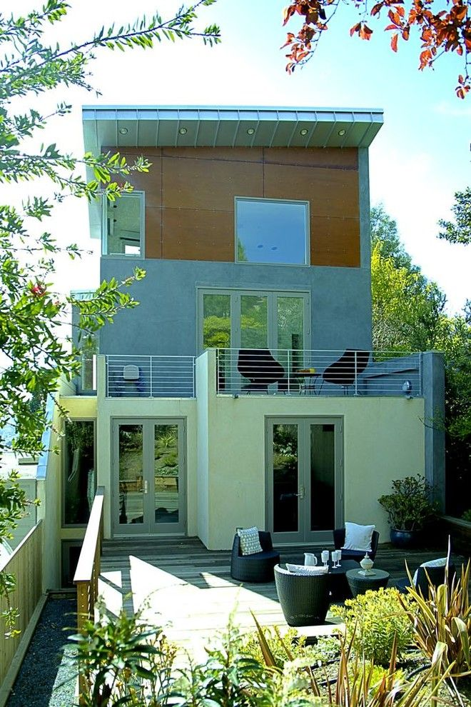Triton Rental Homes for a Contemporary Exterior with a Geometric and Garden Views by Dnm Architect