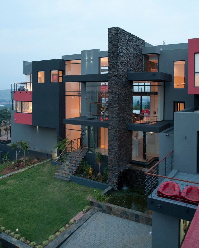 Triton Rental Homes for a Contemporary Exterior with a Stone and House Lam by Nico Van Der Meulen Architects