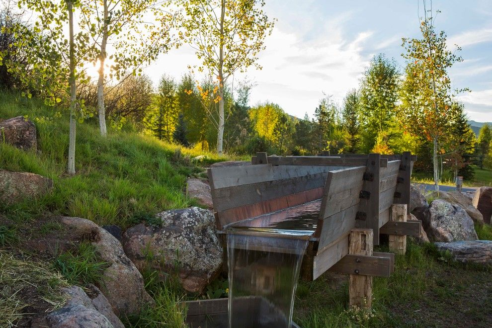 Truckee Meadows Water for a Rustic Landscape with a Gardens and 2015 Garden Dialogues: Aspen, DBX3, August 8 by the Cultural Landscape Foundation