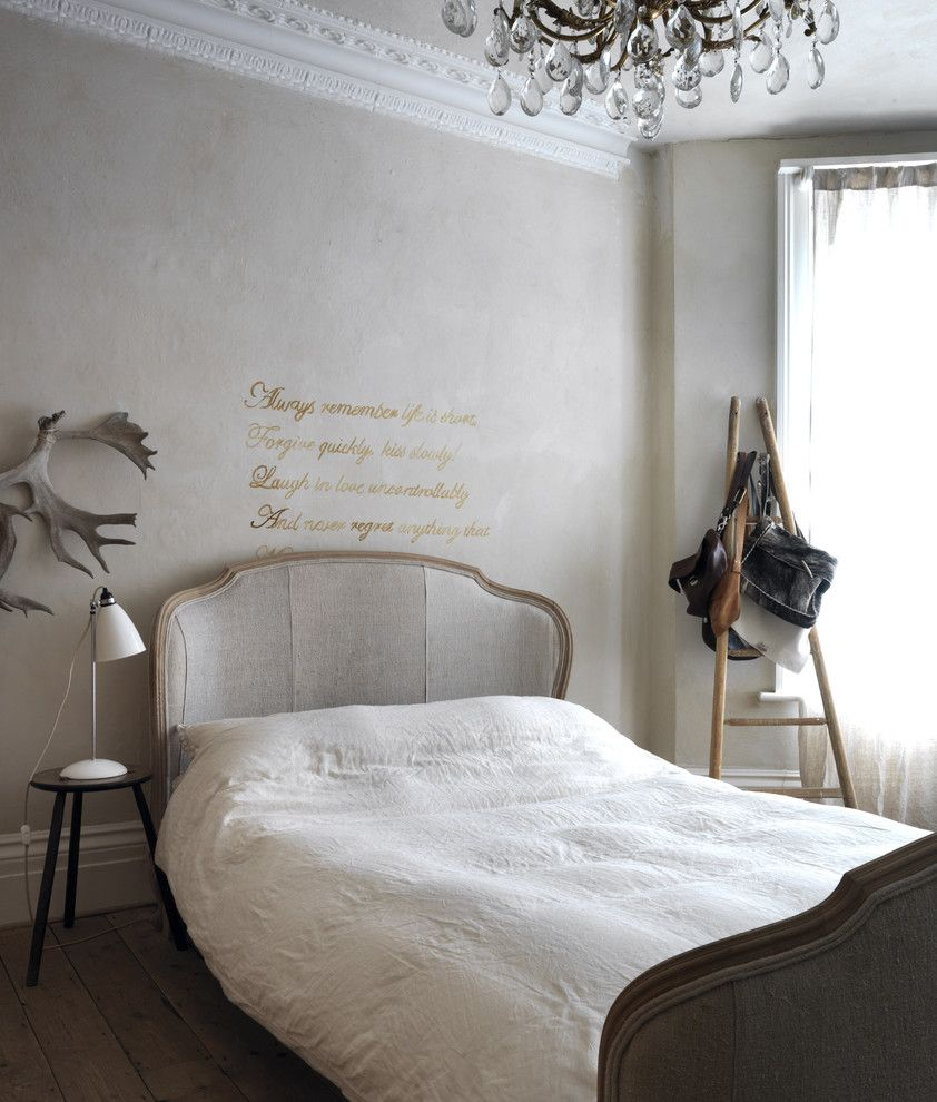 Twinspires for a Shabby Chic Style Bedroom with a French Countryside and Flea Market Chic by Ryland Peters & Small | Cico Books