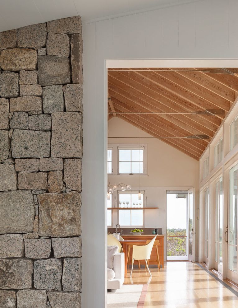 Twombly for a Beach Style Entry with a Beach Style and Swede Hill by Estes/twombly Architects, Inc.