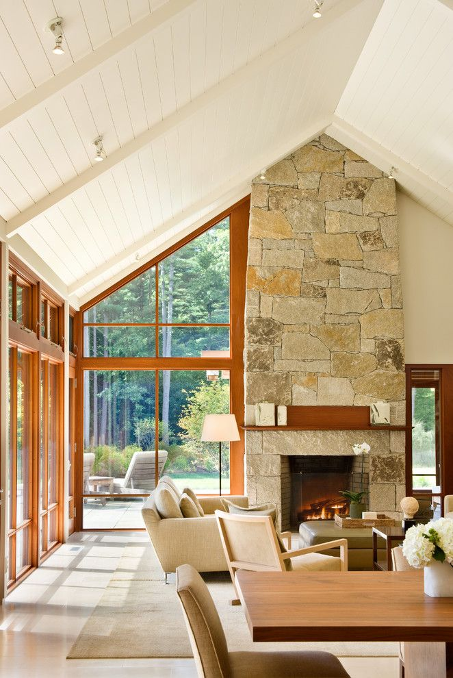 Twombly for a Traditional Living Room with a Traditional and Connors House by Estes/twombly Architects, Inc.
