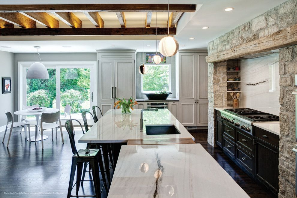 Uncommon Goods.com for a Contemporary Kitchen with a Pendant Lights and Thermador by Thermador Home Appliances