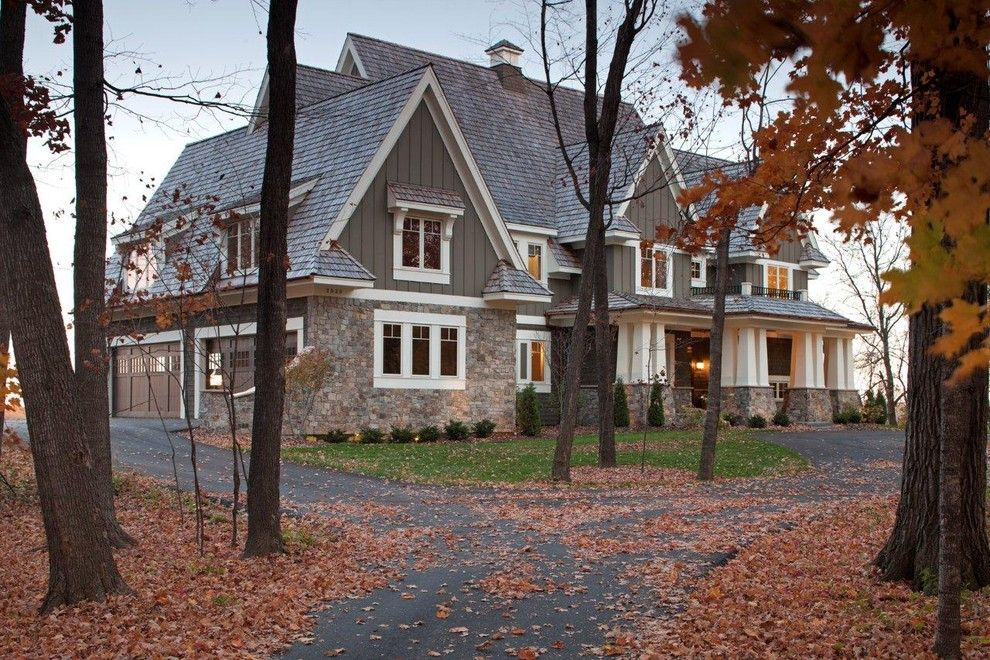 Uncommon Goods.com for a Craftsman Exterior with a Wood Siding and Exterior by Stonewood, Llc