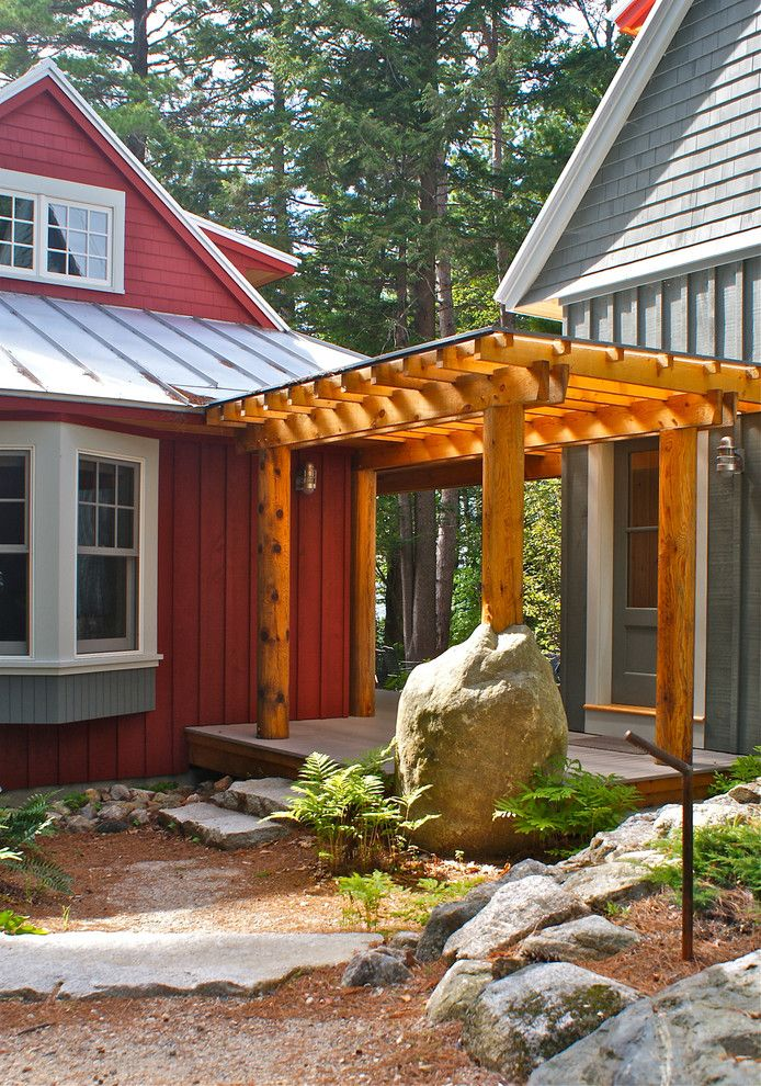 Uncommon Goods.com for a Traditional Entry with a Traditional and Covered Entry Porch by Whitten Architects