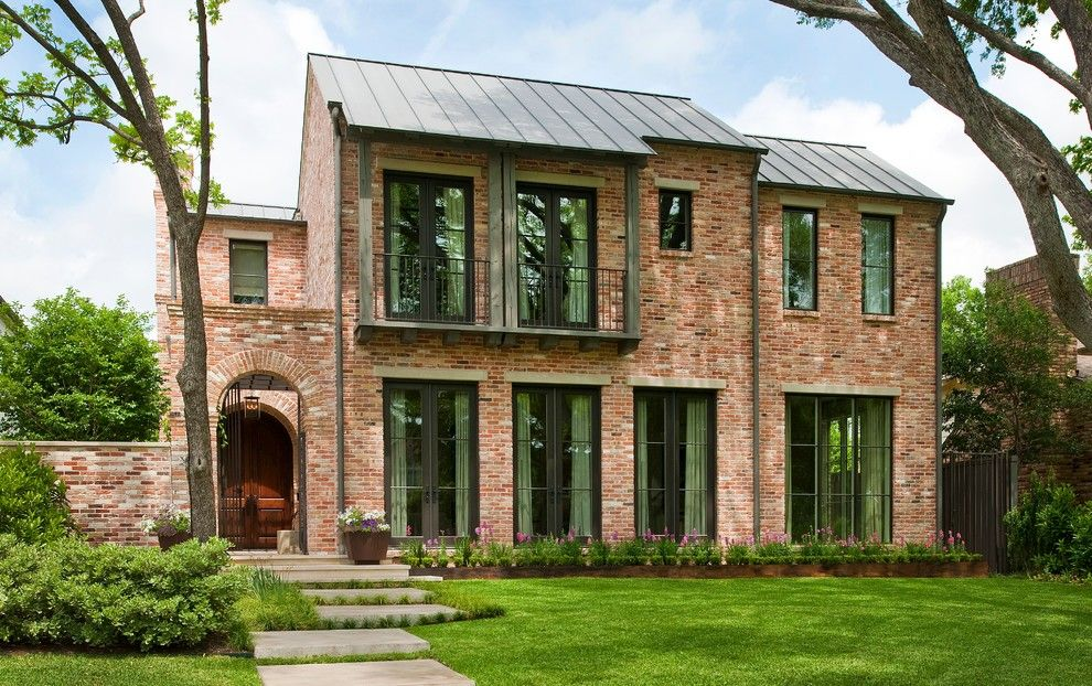 Uncommon Goods.com for a Transitional Exterior with a Modern and Windsor University Park by Tatum Brown Custom Homes