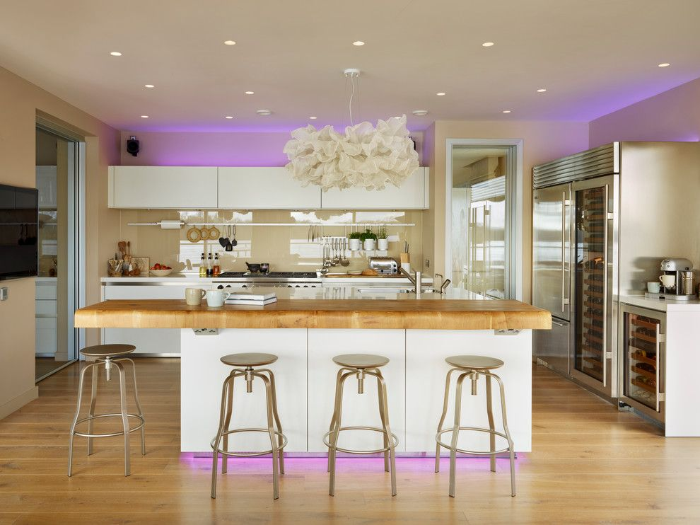 United Artist Laguna for a Contemporary Kitchen with a Boiling Hot Water Tap and Bulthaup with a Lakeside View by Hobsons Choice