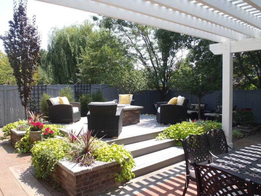 Ups Store Fort Collins for a Modern Patio with a Bbq and Brick Patio Pergola   Fort Collins, Co by Alpine Gardens