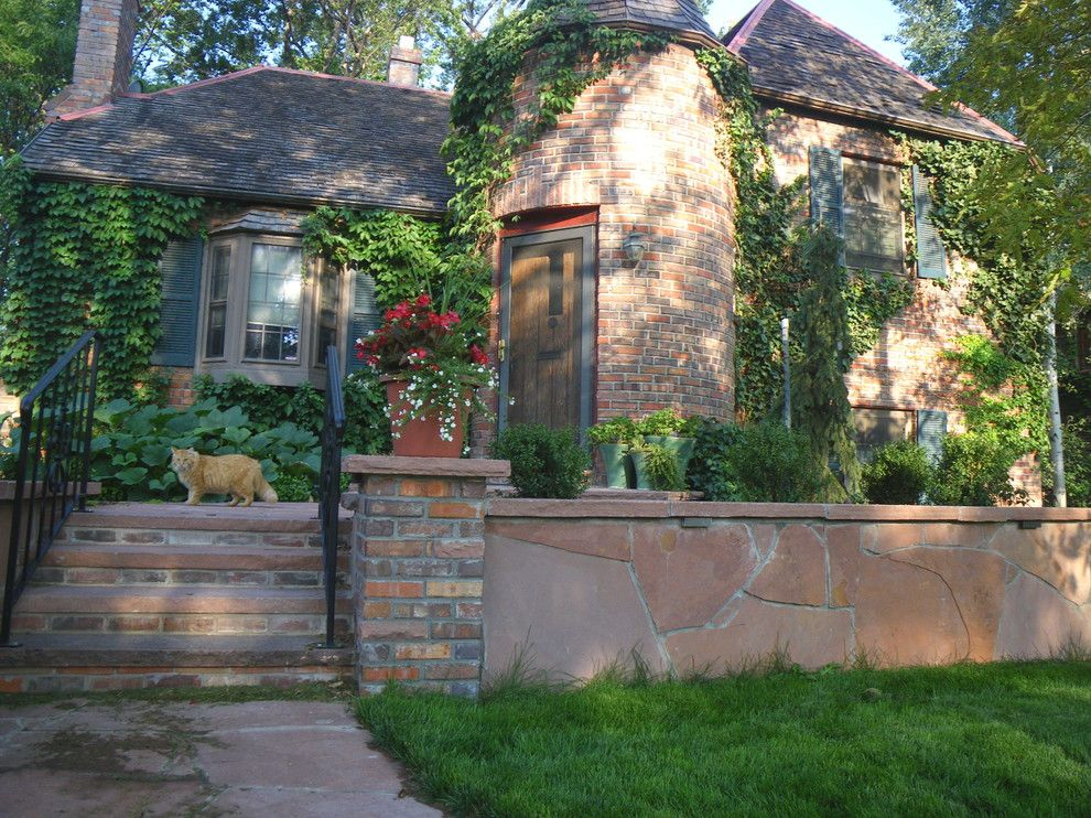Ups Store Fort Collins for a Traditional Landscape with a Cottage and Cozy Cottage Walkway & Patio   Fort Collins, Co by Alpine Gardens