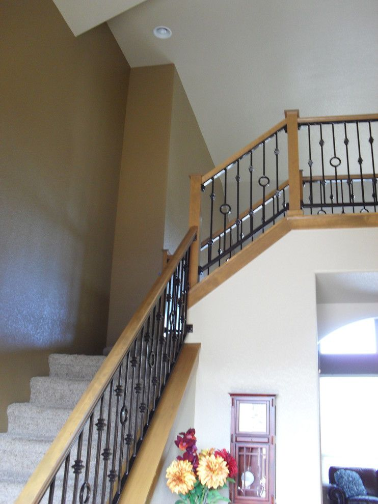 Ups Store Fort Collins for a Traditional Staircase with a Traditional and Fort Collins   No Wall Too Tall! by My Favorite Painters!