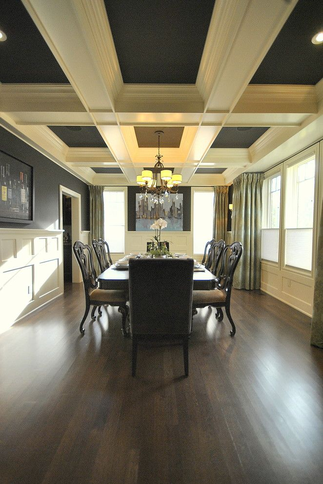 Urban Home Sherman Oaks for a Traditional Dining Room with a Edmonton Home Re Design and Dining Room Re-Design in Edmonton, AB for Magazine Photo Shoot by Revealing Assets - Home Staging Services