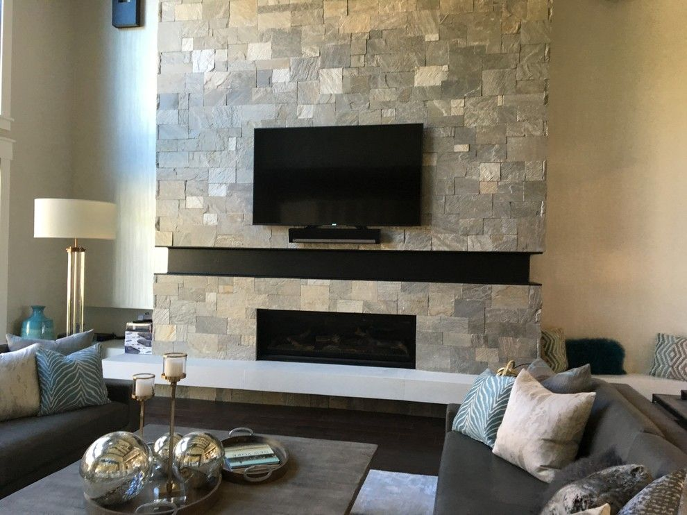 Utah Valley Parade of Homes for a  Spaces with a Modern Prairie and Utah Valley Parade of Homes 2016: Raykon Kimberly by Hearth and Home Distributors of Utah, Llc. (Hhdu)
