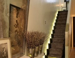 Vages for a Contemporary Entry with a Staircase Lighting and Notting Hill Townhouse by Kelly Hoppen London