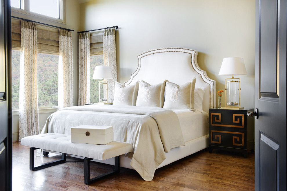 Valance Definition for a Traditional Bedroom with a Jewelry Box and Marsh Mountain Home by Panageries