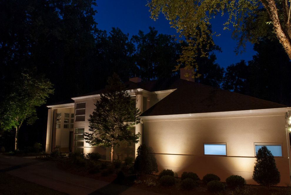 Valley Crest Landscape for a Contemporary Landscape with a Landscape Lighting and Valleys Crest Project by Lighthouse Outdoor Lighting Baltimore