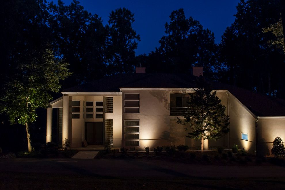 Valley Crest Landscape for a Contemporary Landscape with a Outdoor Lighting and Valleys Crest Project by Lighthouse Outdoor Lighting Baltimore