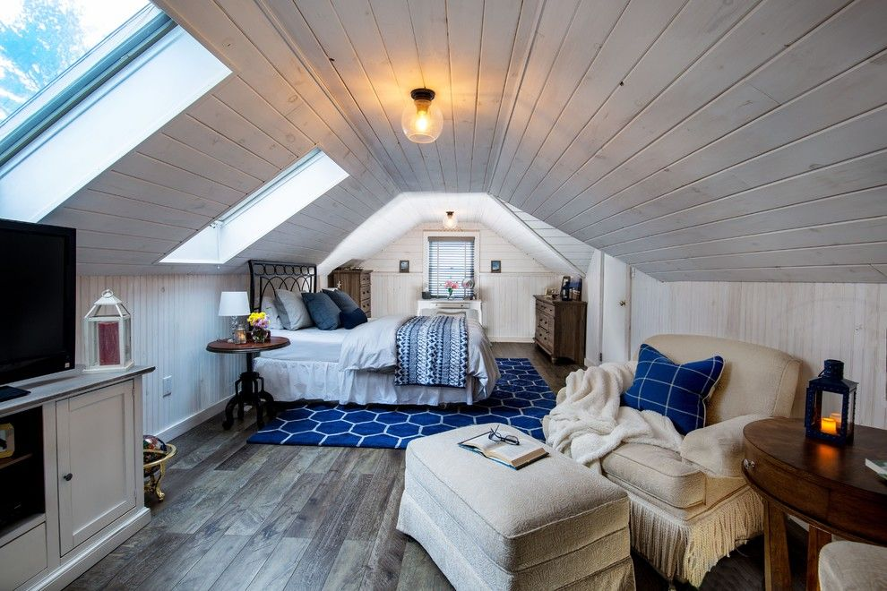 Valley Crest Landscape for a Traditional Bedroom with a Metal Bed and Loft Bedroom by a Perfect Placement