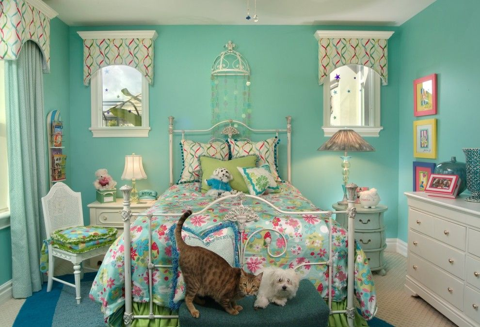 Valliance Bank for a Eclectic Kids with a White Trim and Kitt Haman Design by Kitt Haman Design
