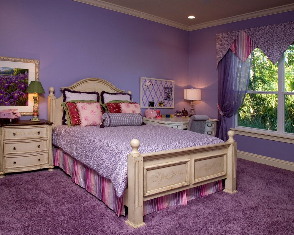 Valliance Bank for a Traditional Kids with a Night Stands and Private Residence 5 by Niemann Interiors