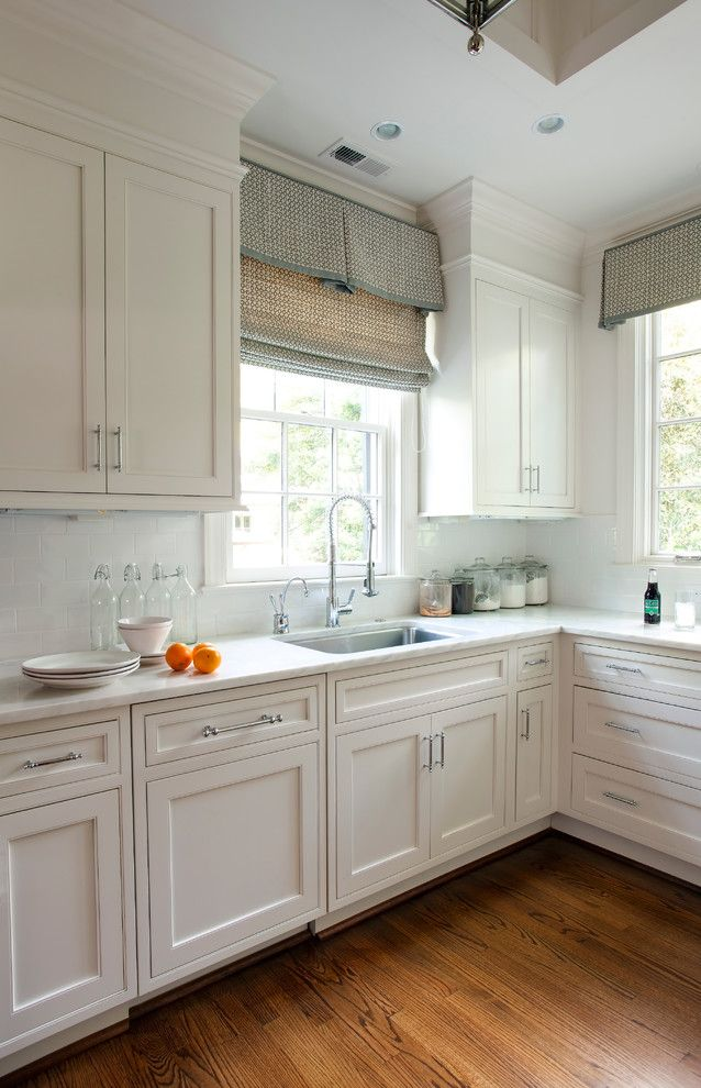 Valliance Bank for a Traditional Kitchen with a Shaker Kitchen and Advanced Renovation Projects by Jim Schmid Photography