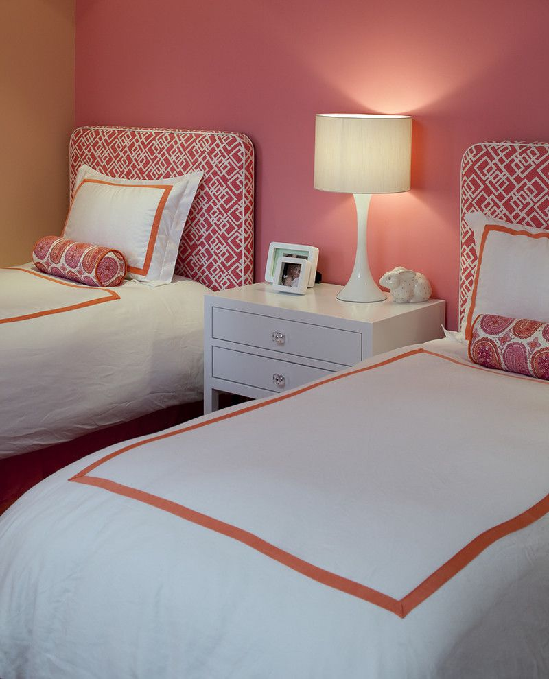 Valspar Color Chart for a Contemporary Bedroom with a Modern Table Lamp and Tineke Triggs by Artistic Designs for Living, Tineke Triggs