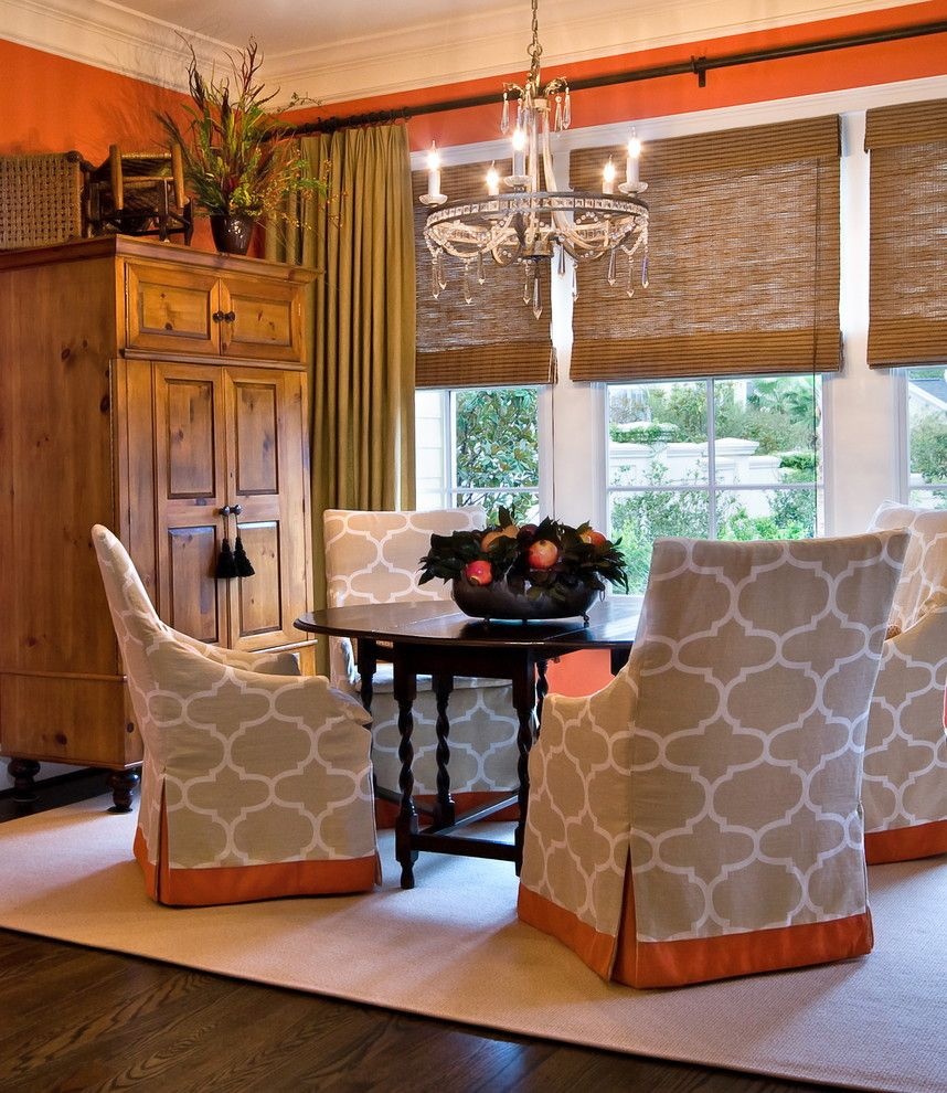 Valspar Colors for a Traditional Dining Room with a Gate Leg Table and Lorraine Vale by Lorraine G Vale, Allied Asid
