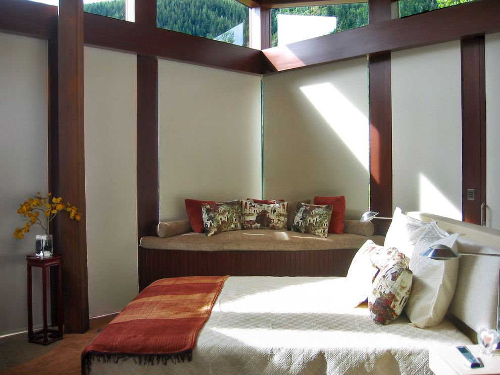 Value City Furniture Louisville for a Contemporary Bedroom with a Window Shades and Blinds and Master Bedroom   Roller Shades by Abda Custom Window Fashions