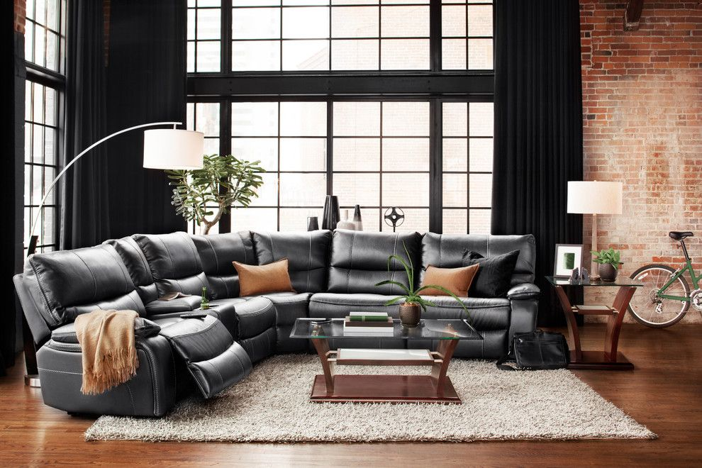 Value City Furniture Louisville for a Contemporary Living Room with a Grey and the Denver Collection by Furnituredotcom