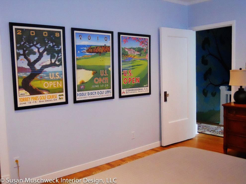Value City Furniture Louisville for a Traditional Spaces with a Poster Art and Squirrel Hill Home by Susan Muschweck Interior Design, Llc