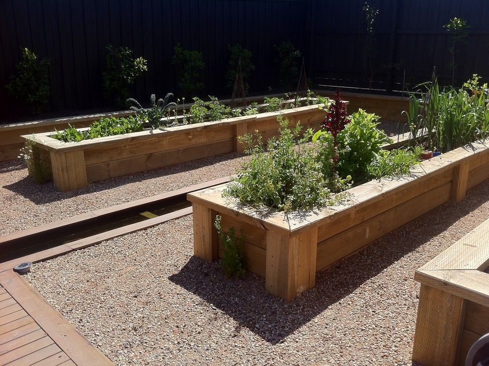 Vegetable Garden Planner for a Traditional Landscape with a Garden and Andrew Renn, Beautiful Gardens of Melbourne Australia by Andrew Renn