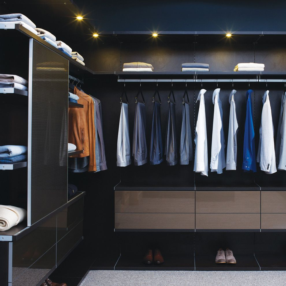 Venetian Nj for a Contemporary Closet with a Gray Rug and California Closets by California Closets Hq