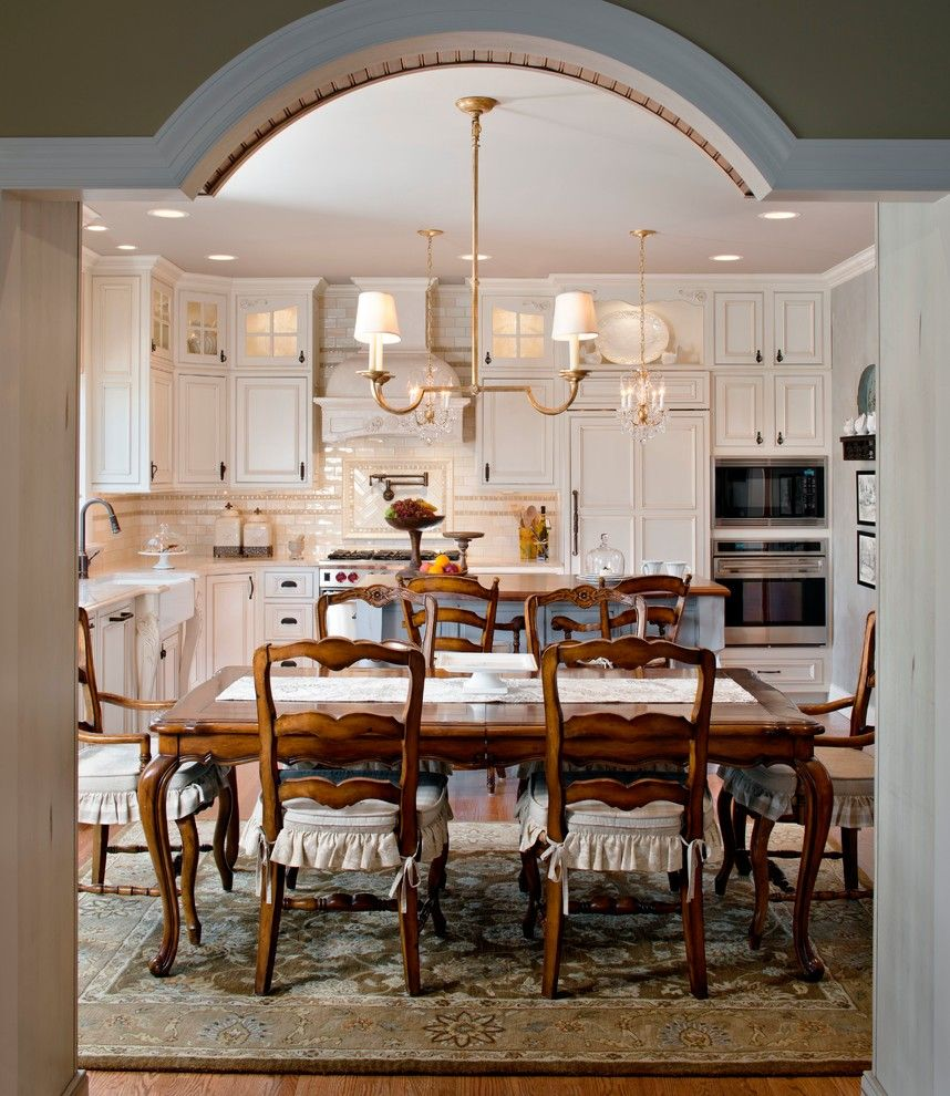Venetian Nj for a Traditional Dining Room with a Wood Dining Chairs and Pittstown, Nj by Krfc Design Centers