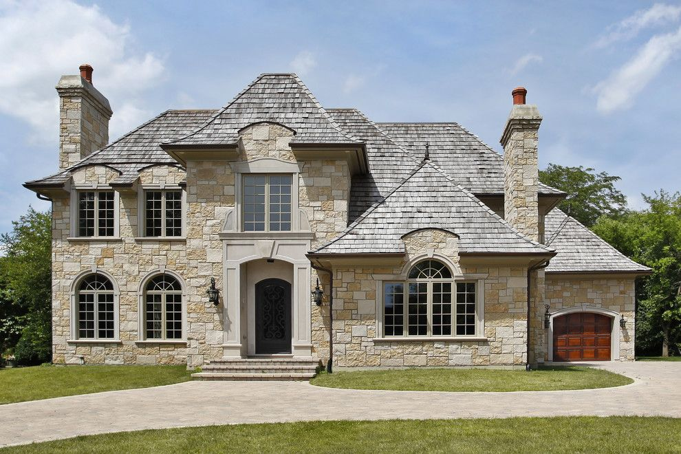 Veritas Houston for a Rustic Exterior with a Stone Exterior Homes and French Country by Veritas Custom Homebuilder, Inc.