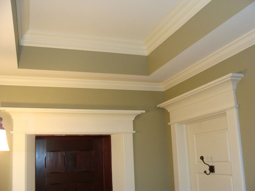 Vernon Hills Theater for a Traditional Bathroom with a Crown Molding and Lake George Historic Remodel by Adirondack Carpentry Llc