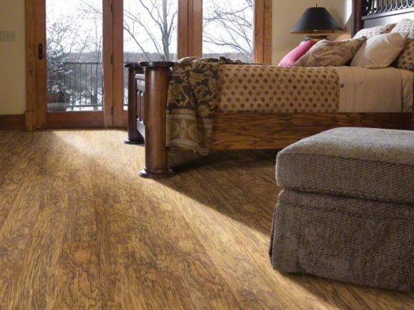 Versalock for a Farmhouse Bedroom with a Vinyl Plank Flooring and Bedrooms by Shaw Floors