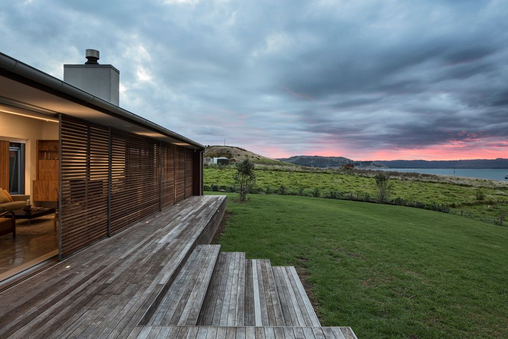 Versatex for a Contemporary Landscape with a New Zealand and Mahia Peninsula by Julian guthrie.com