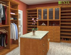 Versatex for a Traditional Closet with a Single Hang and Various Projects Highlighting Our Versatility by STOR-X Vancouver