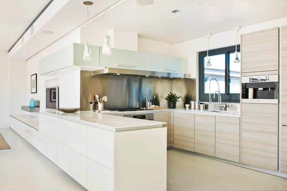 Vigo Industries for a Modern Kitchen with a Modern and Poggenpohl by Poggenpohl