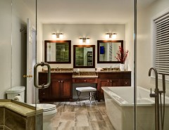 Villanueva Construction for a  Bathroom with a  and GLENVILLE, NY BATHROOM REMODEL by Bellamy Construction