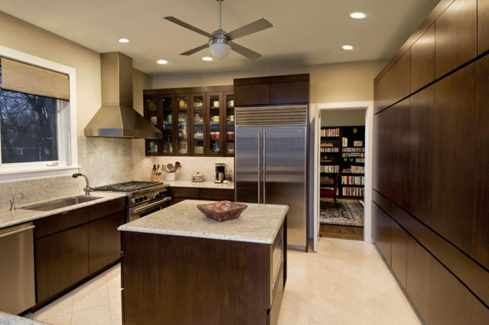 Villanueva Construction for a Traditional Kitchen with a Interior Work and Interior Work by Hatcher Family Construction, Inc.