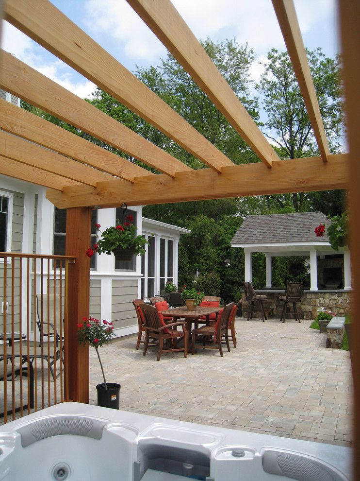 Virginia Cook Realtors for a Traditional Patio with a Patio and Outdoor Entertaining by O'grady's Landscape