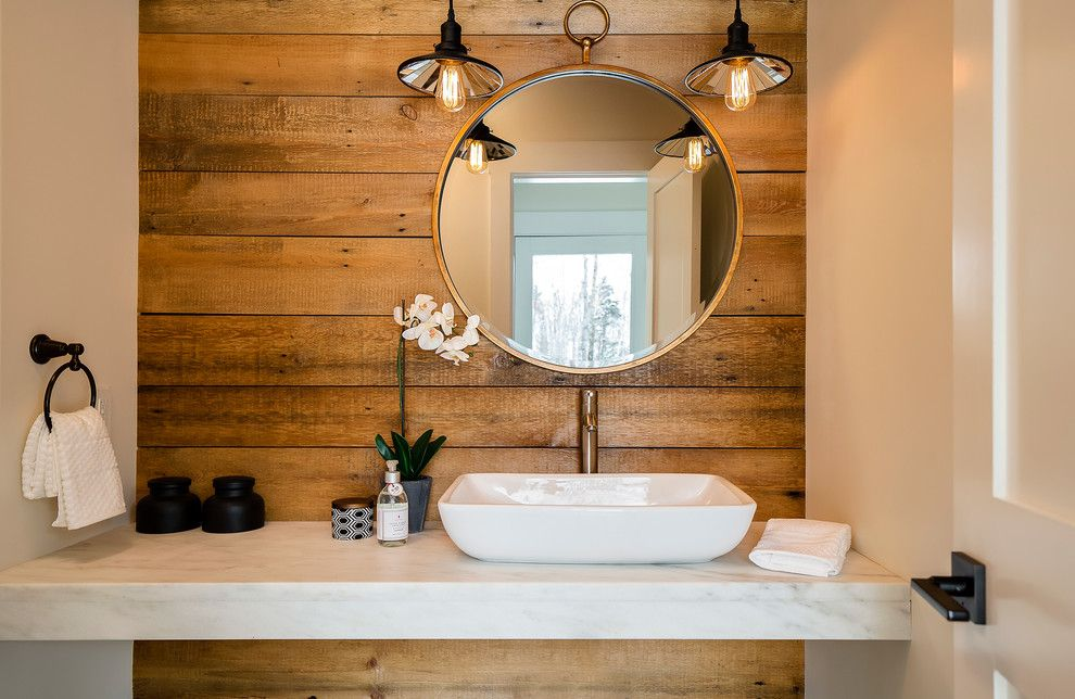 Vitreous China for a Rustic Bathroom with a Orchids and Stowe Bathroom by Speakman Company
