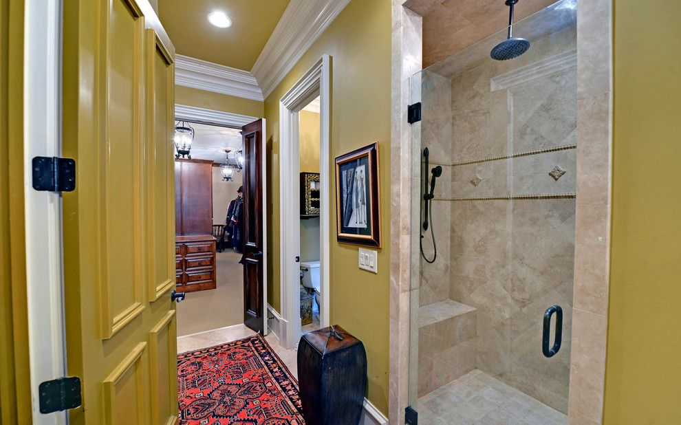 Wade Hampton Golf Club for a Eclectic Bathroom with a Suwanee and the River Club Custom Homes by Envision Web