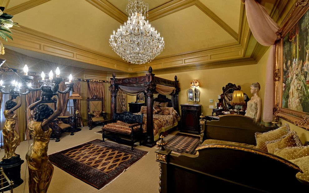 Wade Hampton Golf Club for a Eclectic Bedroom with a Georgia and the River Club Custom Homes by Envision Web