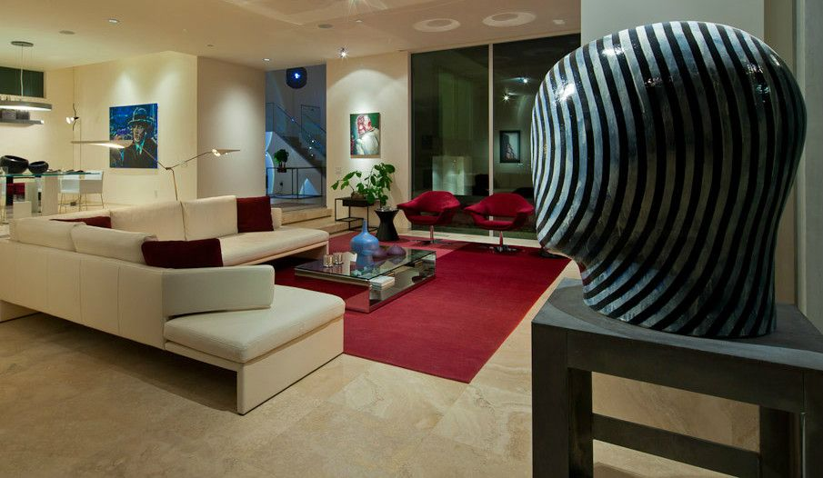 Walter Knoll for a Modern Living Room with a Acerbis and Hollywood Hills Living Room by Graye