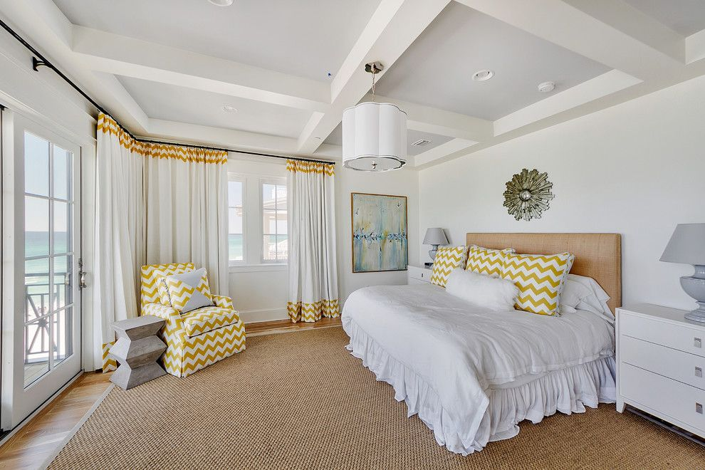 Wardley Real Estate for a Beach Style Bedroom with a Chevron Throw Pillow and 252 Winston Lane by Emerald Coast Real Estate Photography